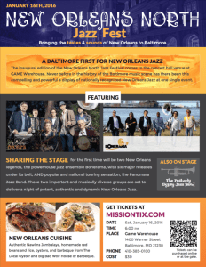 New Orleans North Jazz Festival