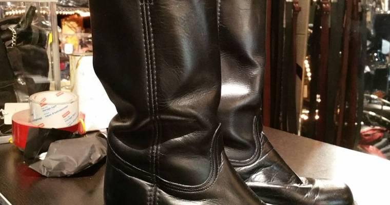 Frye campus boots. Black, size 9 men's . nice. #rerides