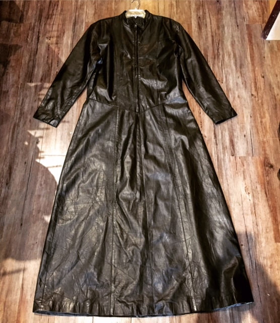 Leather Priest Cassock