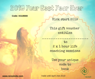 Example Life coaching voucher 2019