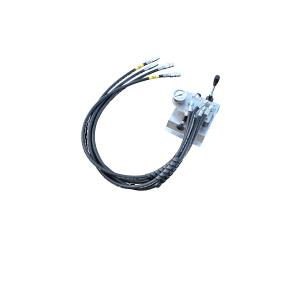 Sistema di controllo idraulico per macchina soffiacavo