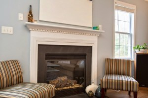 Direct Vent Gas Fireplace Provides Efficient Heat and a Relaxing Ambience