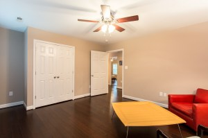 Ample Sized 3rd Bedroom
