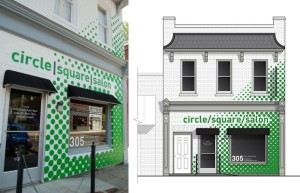 Storefront for Community Design facade Richmond Real Estate