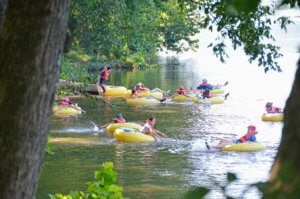 Tubing the James River re|RVA