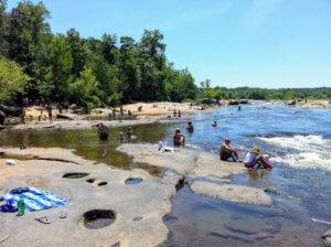 Sunbathing Rocks James River re|RVA