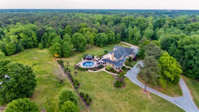 11656 Mill Road Aerial View