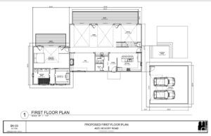 4025 Hickory First Floor Plan
