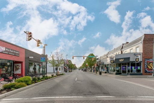 Cary Street in Richmond's Carytown