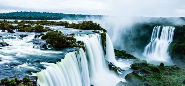 top 5 biggest waterfalls in the world