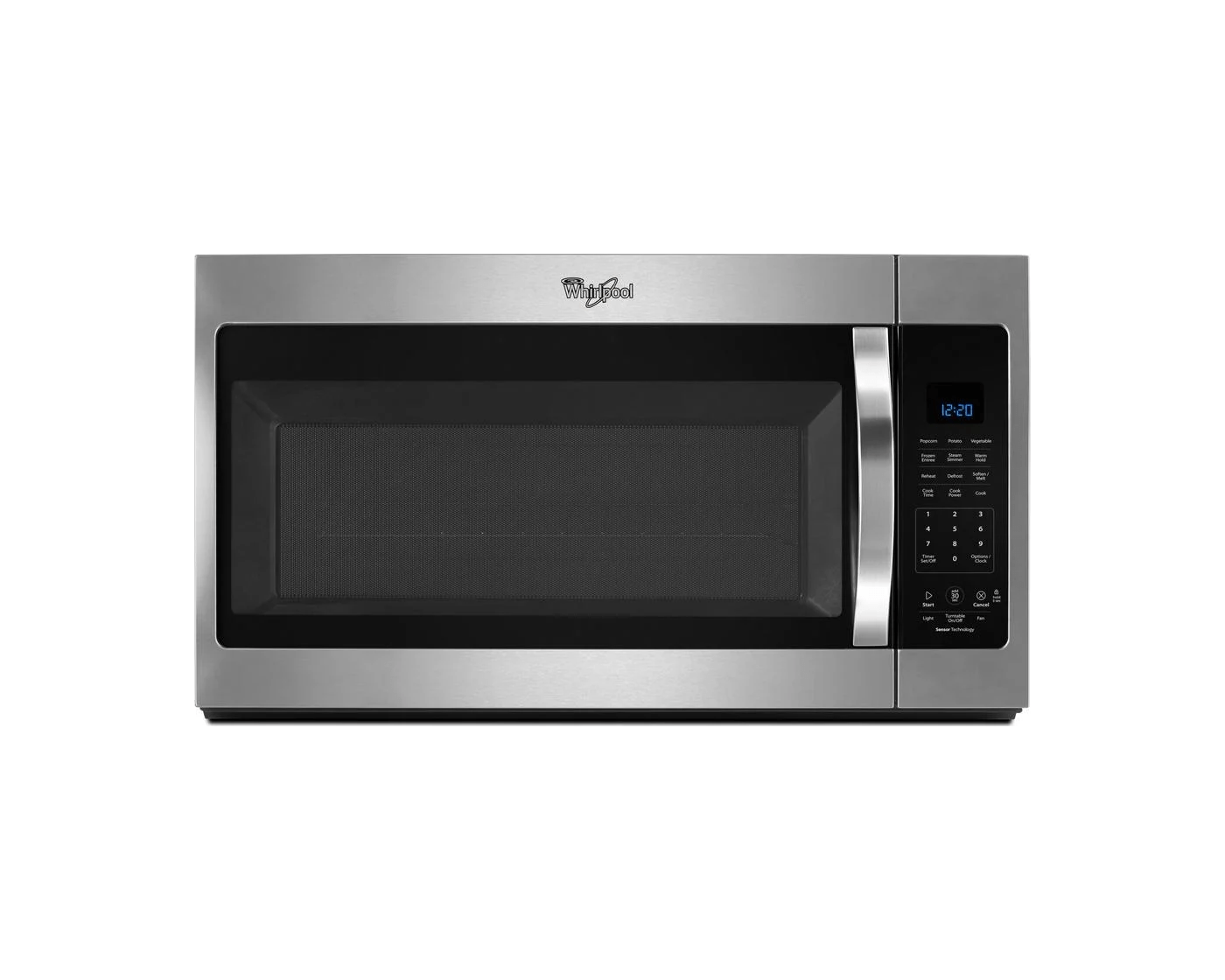 wmh32519fz by whirlpool over the range microwaves goedekers com