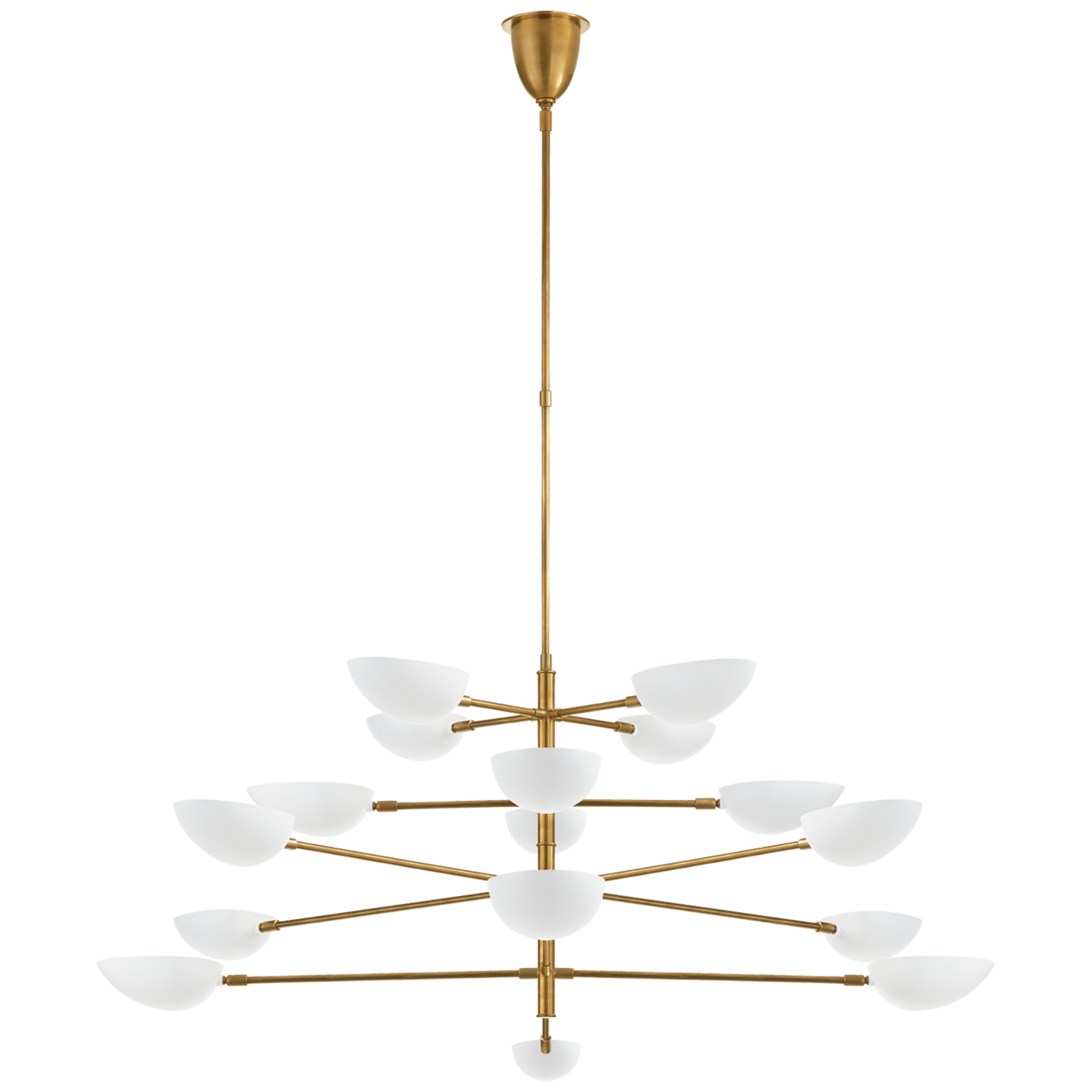 Graphic Grande Four Tier Chandelier