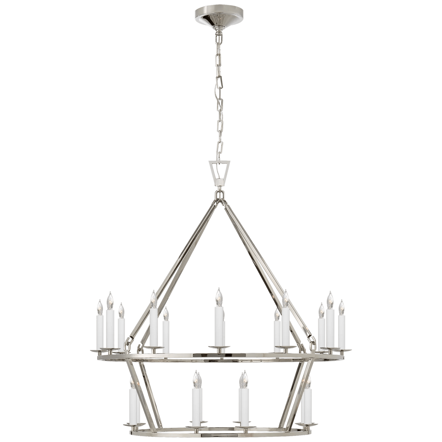 Darlana Medium Two Tier Chandelier