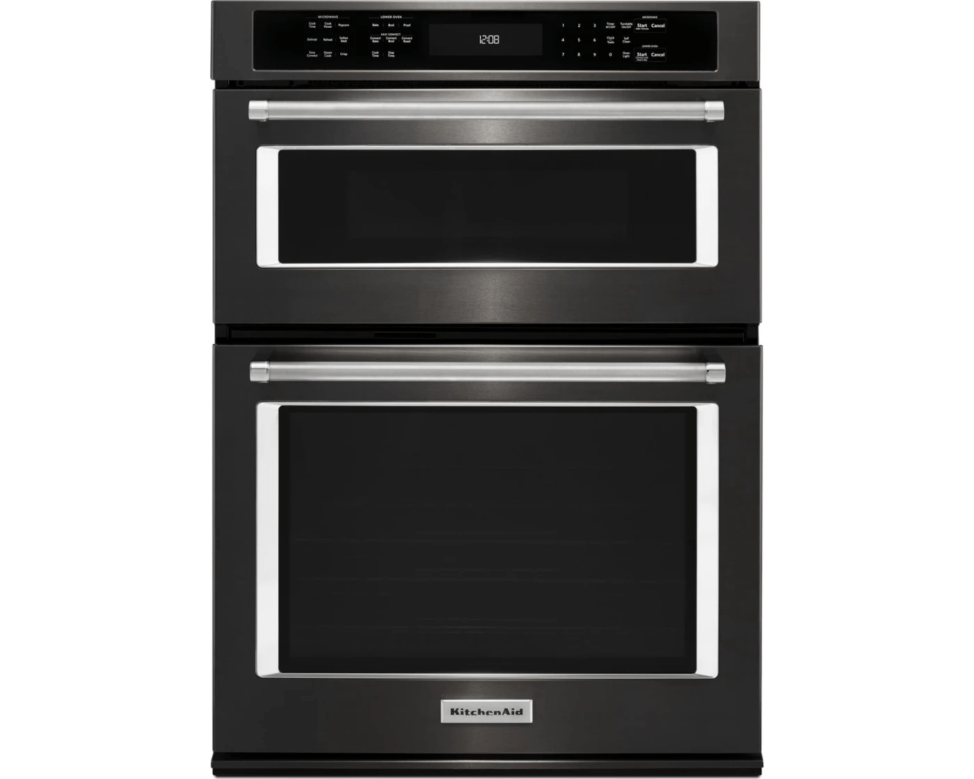 koce507ebs by kitchenaid combination wall ovens goedekers com