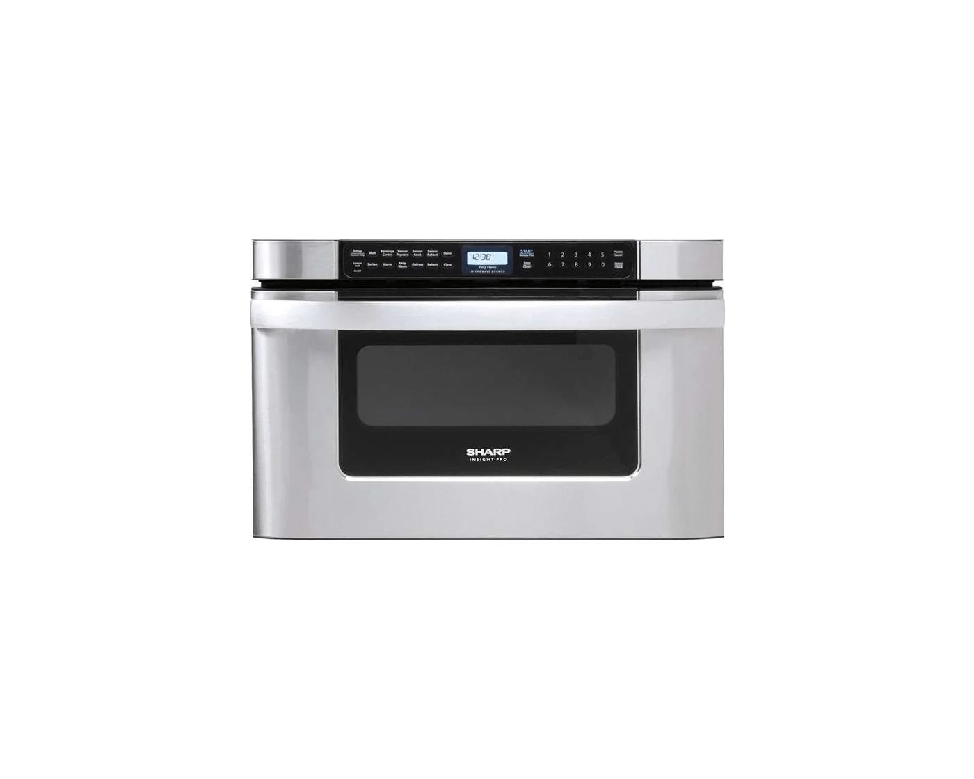kb6524psy by sharp drawer microwaves goedekers com