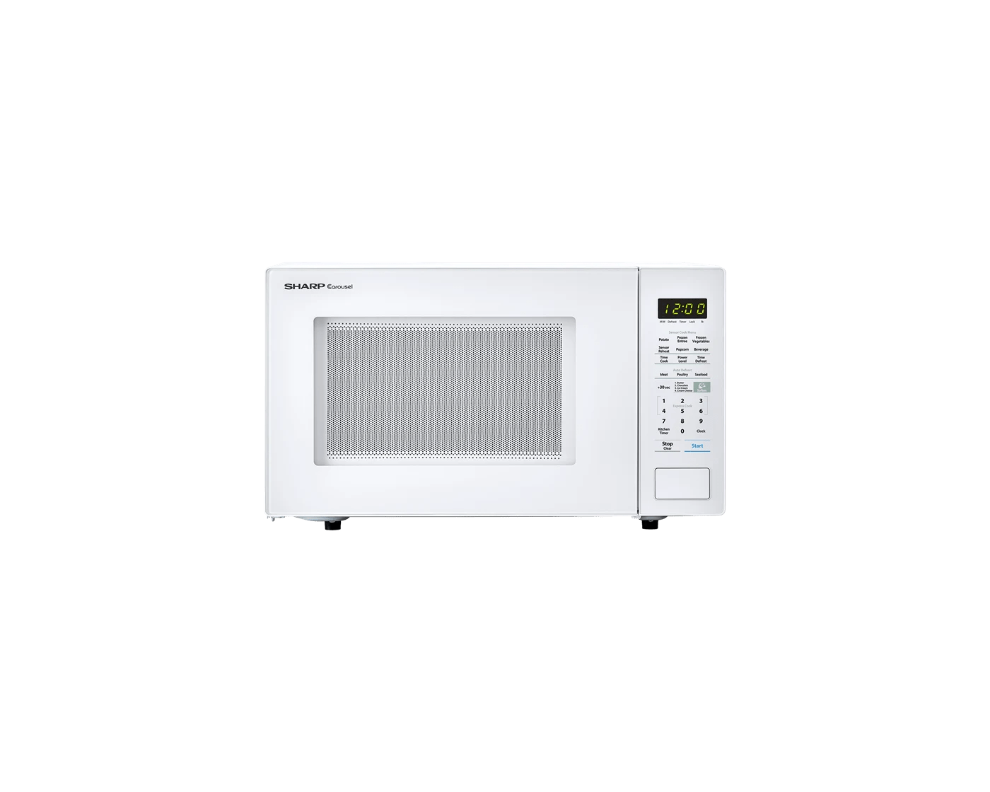 smc1441cw by sharp countertop microwaves goedekers com