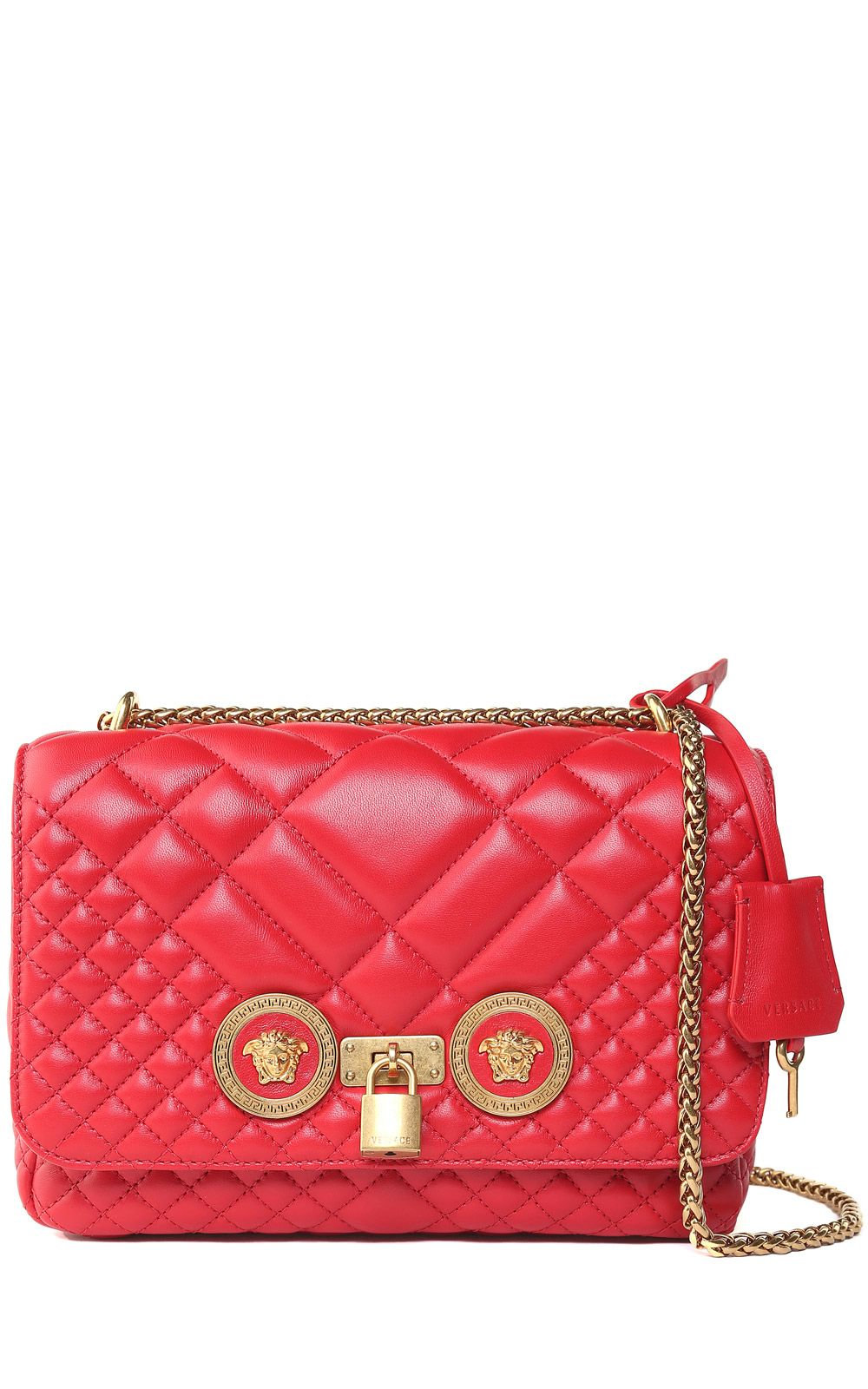 552e5a3ce0f8 Versace Icon Quilted-leather Shoulder Bag – Italist –  1,500.50