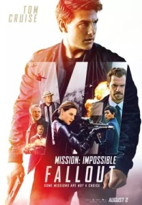 Movie Times for Mission  Impossible   Fallout   Westfield Stratford City All Times  Movie Poster
