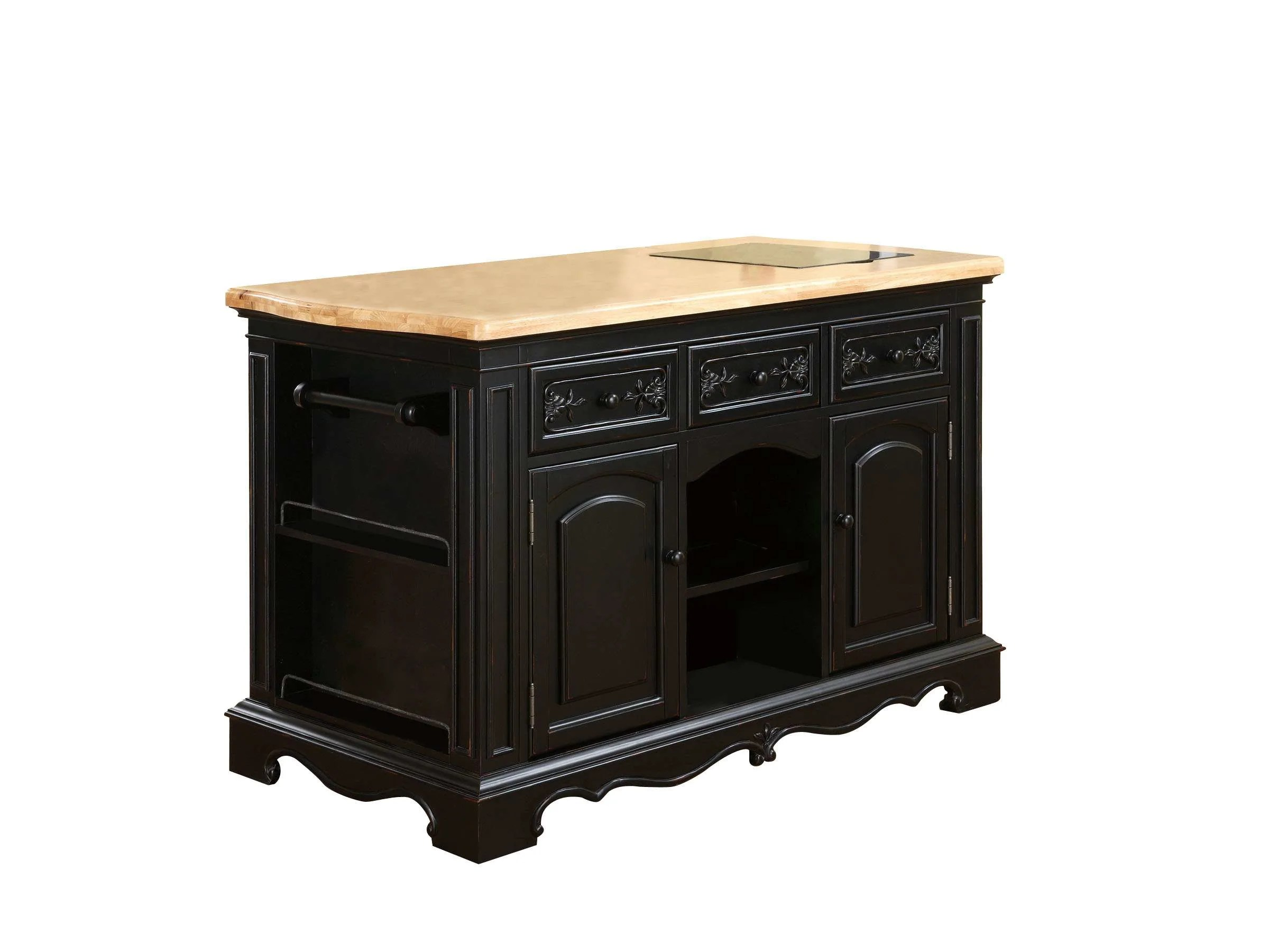 Powell Natural Pennfield Kitchen Island Amp Reviews