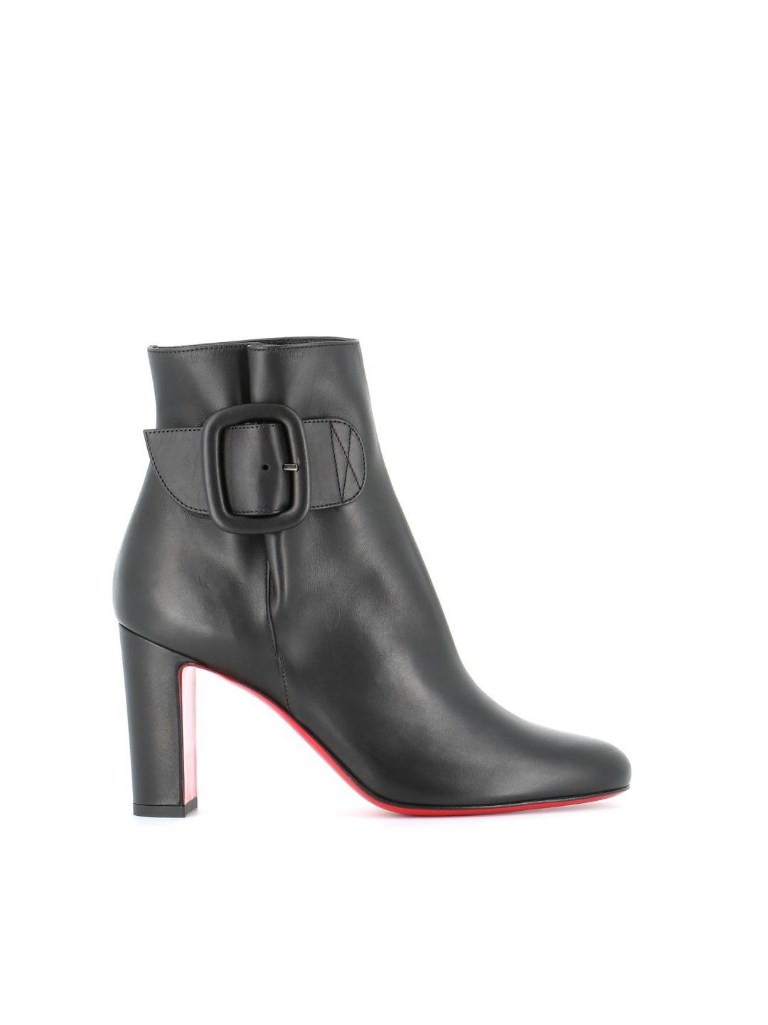 "0bac72bf2507 Christian Louboutin Ankle Boots ""tres Olivia"" – Italist.com US –  910.83"