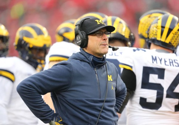 Fans rip Jim Harbaugh after Michigan called timeout on first play of game against PSU