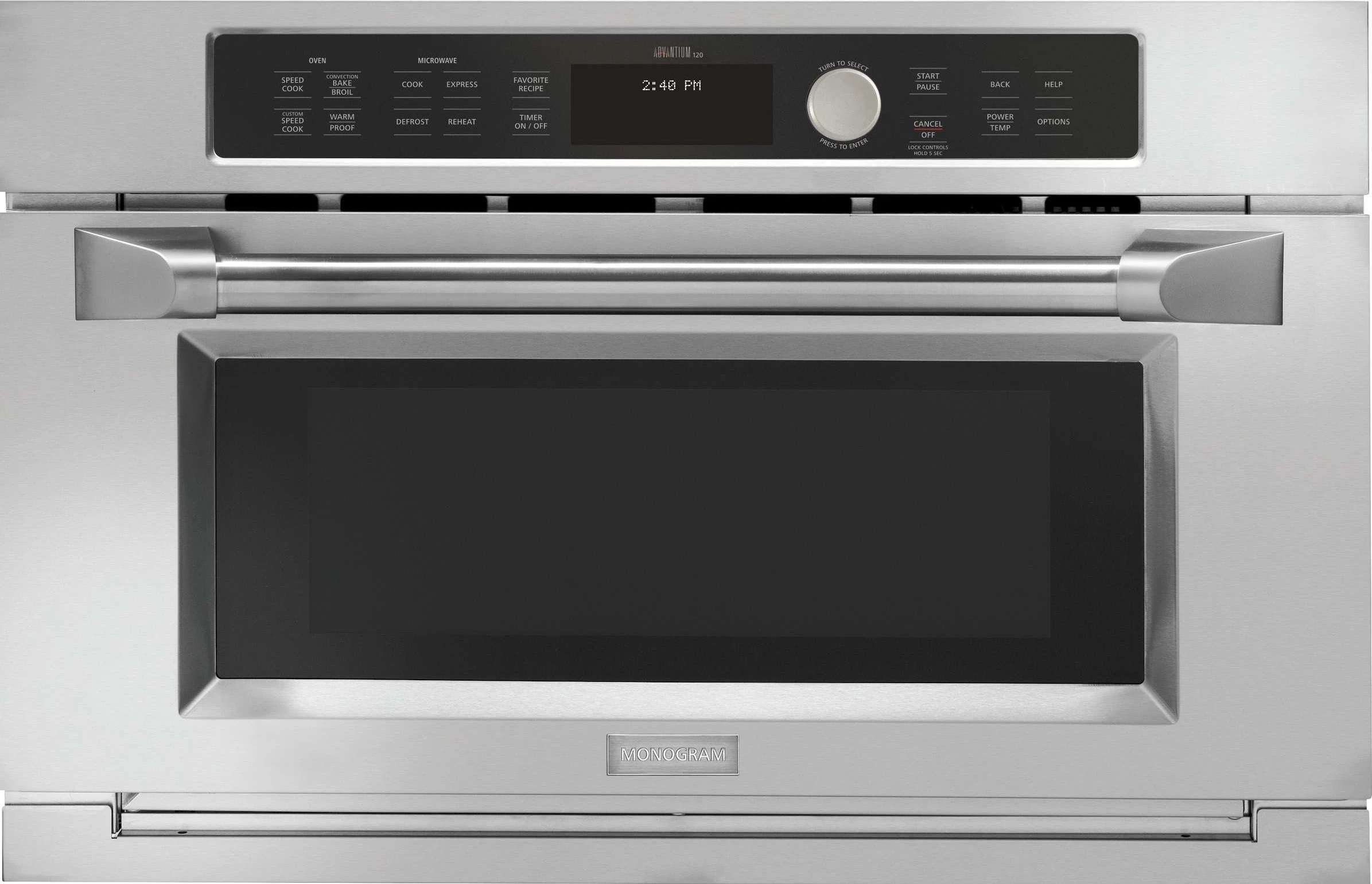 zsc1202jss by monogram single wall ovens goedekers com