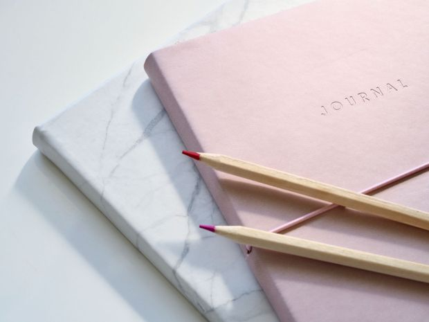 Bullet journal toolkit notebook and pen