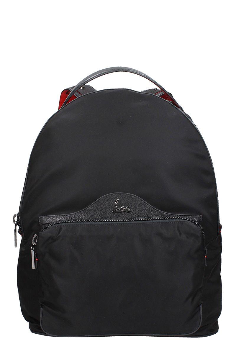 c4fab5c6ed50 Christian Louboutin Backloubi Black Nylon Backpack – Italist.com US –  $887.67