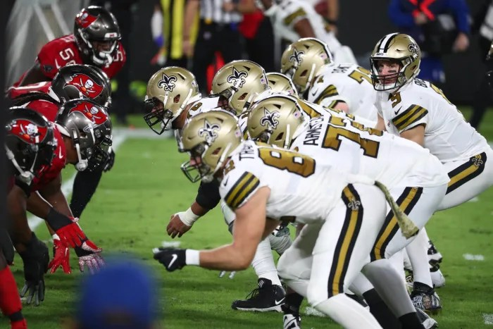 Bucs defense not exactly surging into New Orleans