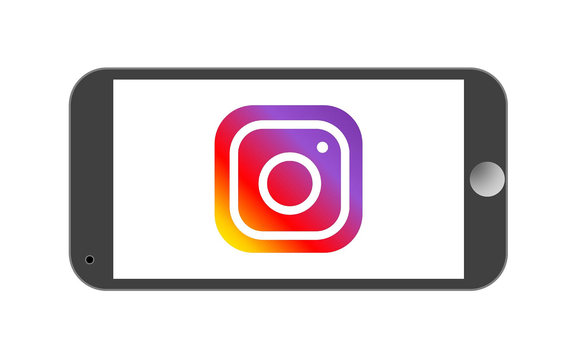 Erklärung der Social-Media-App Instagram
