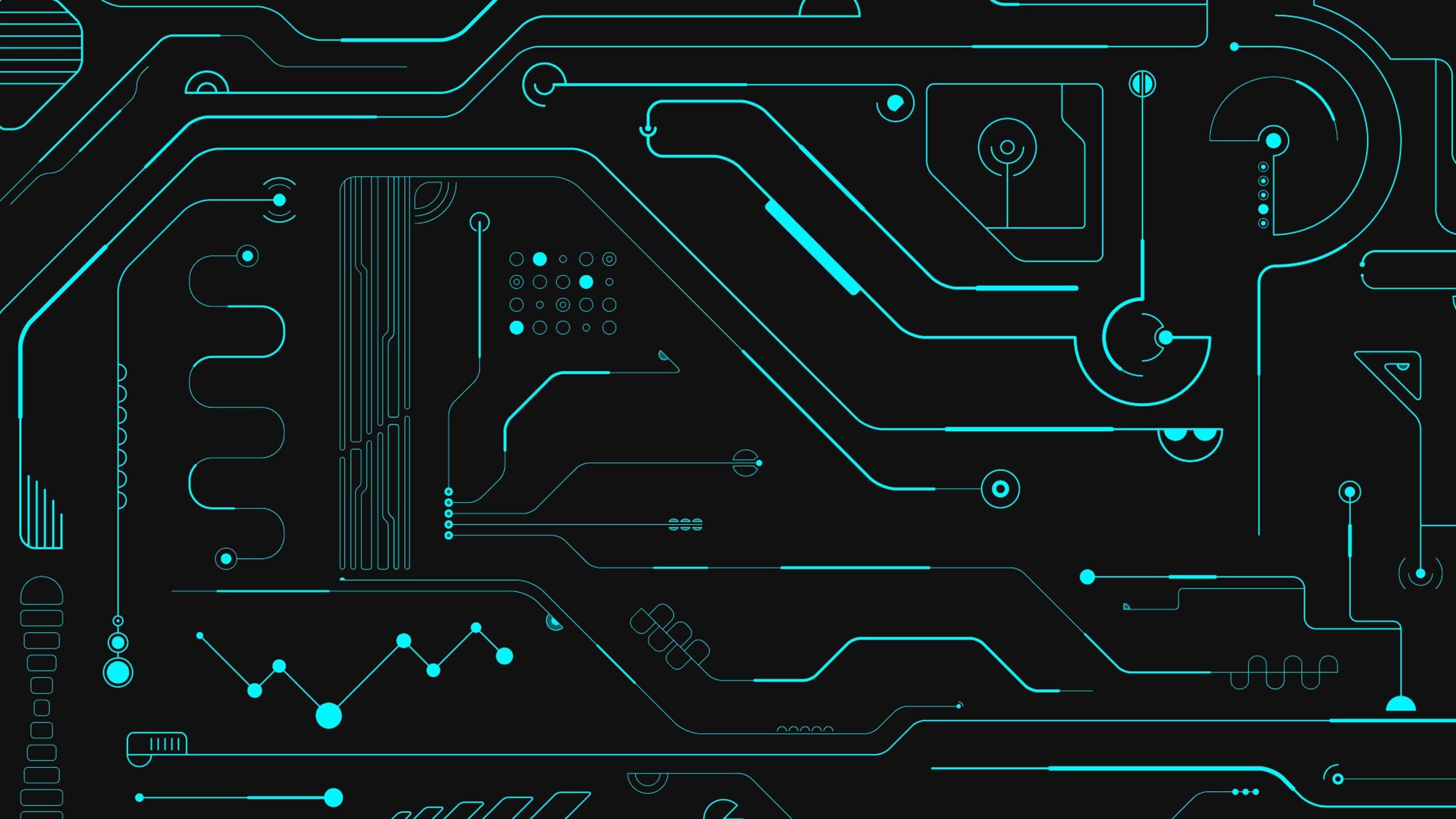 Circuit Board Mac Wallpaper Download