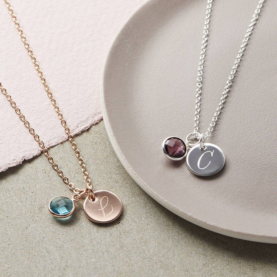 Pick up one of these personalized accessories that she'll treasure long after the gift-giving season.