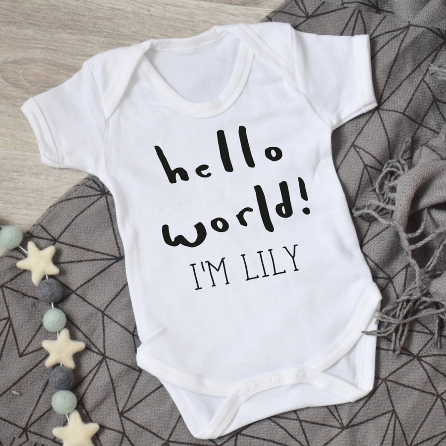 Stereotypical baby clothes? No way. Your kiddo deserves something more stylish than duckies, bunnies, and other grassland animals having pastel-hued tea parties.