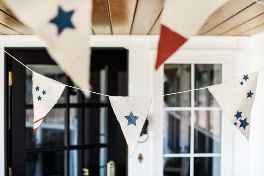 Decorating for the Fourth of July is really a great and easy way to show your patriotic pride, and with our nation's colors of red, white, and blue going so well together, it also couldn't be easier.