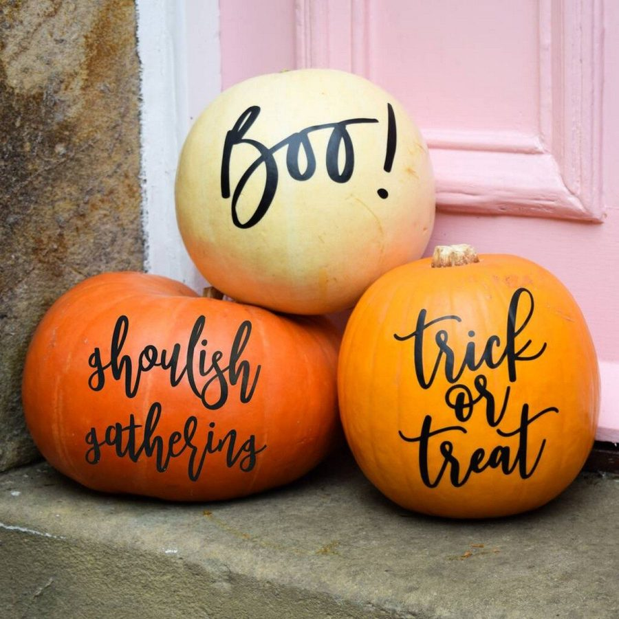 Scroll on for the most creative pumpkin designs and get ready to seriously up your door decor this season.
