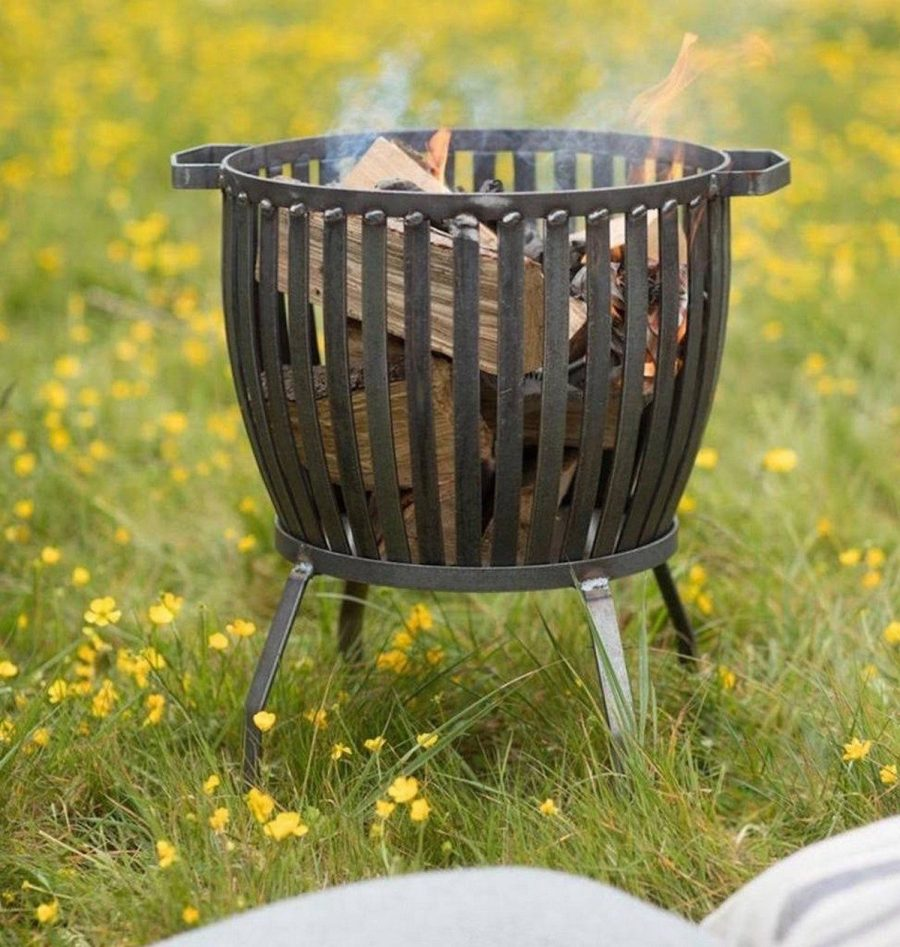 A roaring bonfire on a cool evening is one of the most memorable parts of a summer party. These outdoor fire pits will get the job done in style.