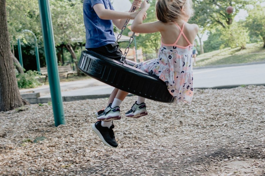 When you're a child, there is no greater feeling in the world than flying through the air on a swing. The breeze against your face and the thrill of being airborne are a cherished part of childhood in many parts of the world. But this beloved playground staple is also beneficial to your child's health and development.
