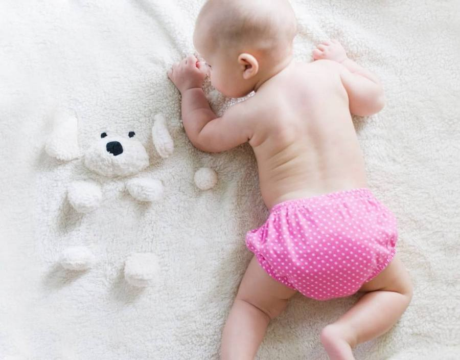 Evidence-based advice on when and for how long to start putting babies down for specific tummy time is sparse and so even the NHS advice is pretty vague. It is suggested that tummy time should begin from birth – babies should be put on their tummies on their parent's chest. In other words...cuddle your newborn baby!