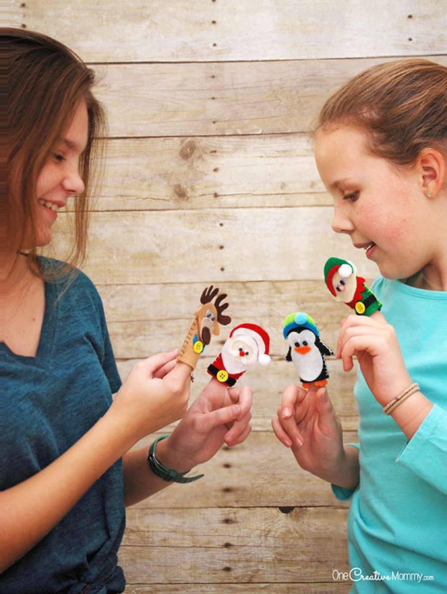 DIY puppets are the perfect example of what we mean! Not only can our kids make something from scratch and get hands-on, but they can also spend hours playing with the craft afterwards!