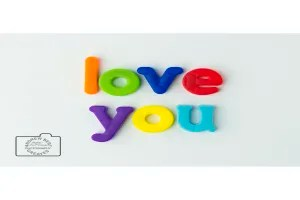 Love you greetings card linking to Etsy store to buy