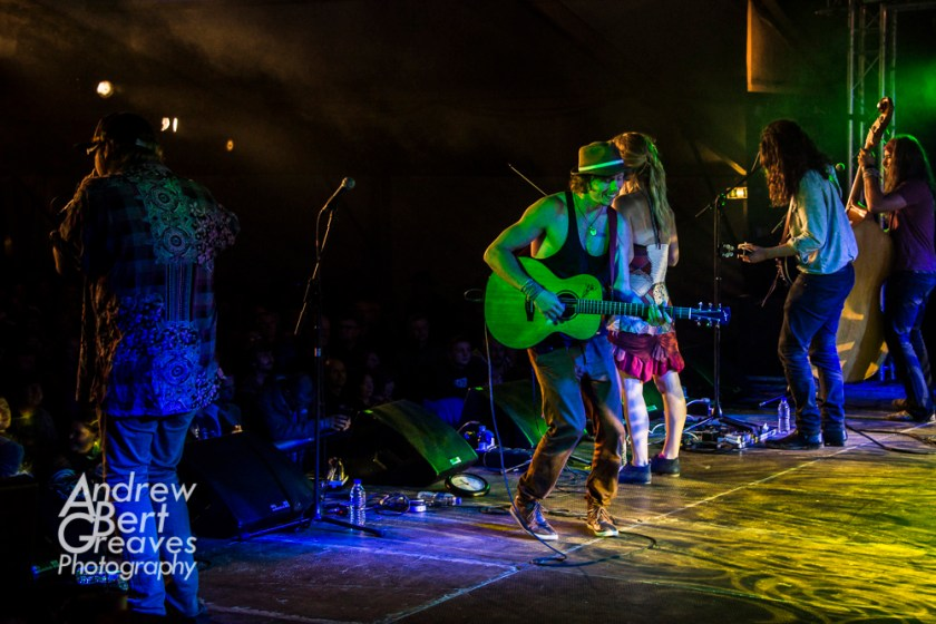 Caption Coco and The Butterfields, Village Pump Folk Festival, 2015