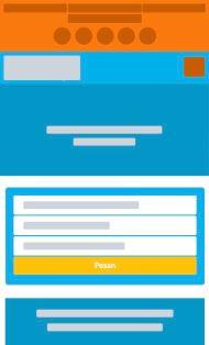 Pemesanan Homepage