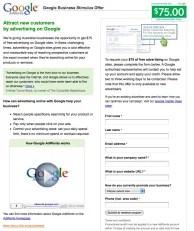 google-stimulus