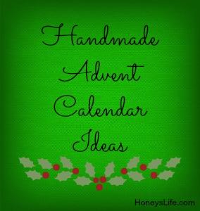 Handmade Advent Calendar Ideas