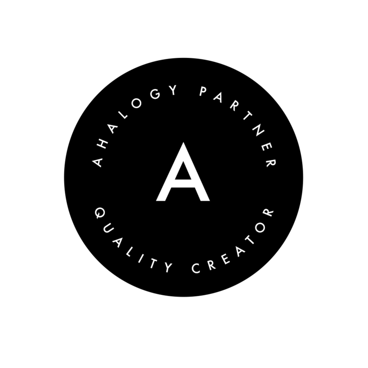 Ahalogy Badge