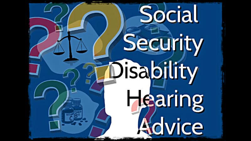 Social Security Disability Hearing Advoce from an Alliance Disability Attorney