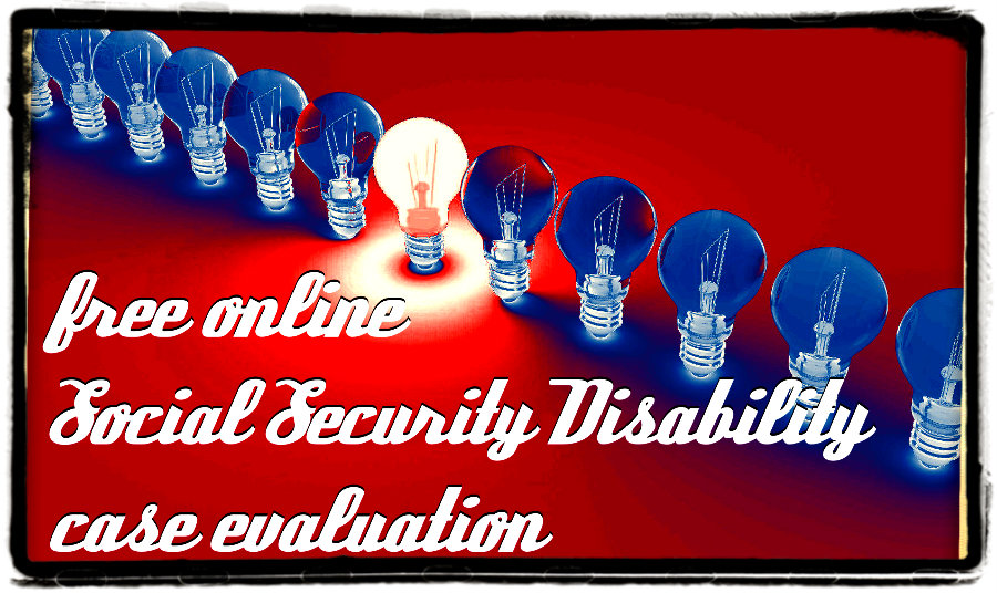 Free Social Security Disability Case Evaluation from Alliance Disability