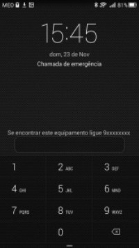 Ajudem um estranho a devolver o vosso telefone. 1