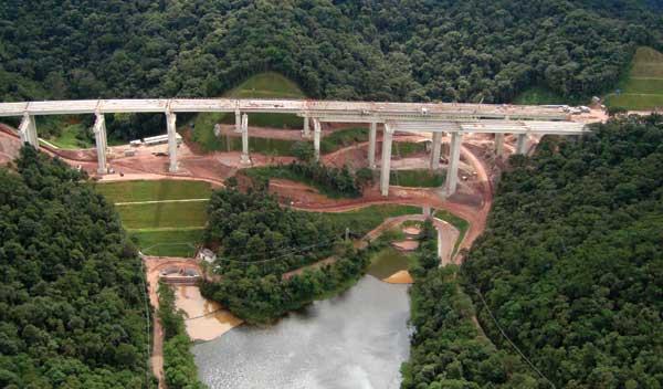 Problemas apresentados por pontes e viadutos