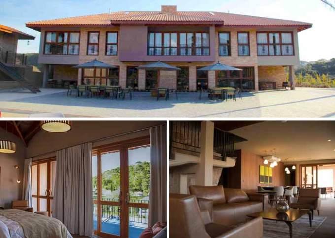 Hotel e Vinícola de Vanja Hertcert